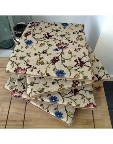 Seat Pads & Cushions, Cornflower Square Tapered Seat Pads , faux-fur-throws