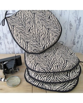 Zebra Classic D Rounded Seat Pads