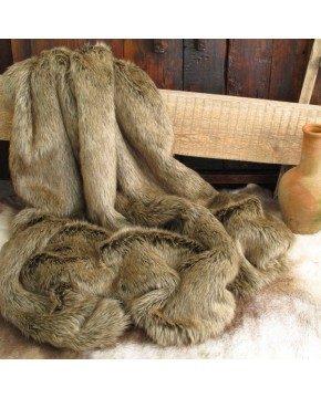 Mink Fur Throw