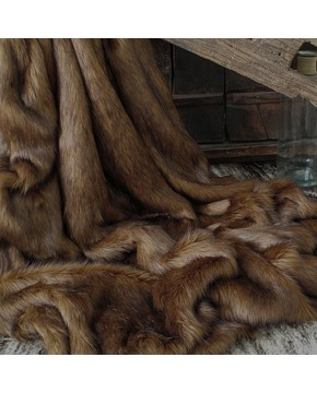 Red Panda Faux Fur Throw