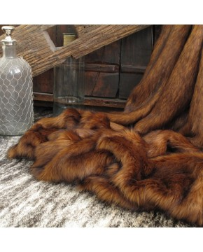 Raynard Faux Fur Throw