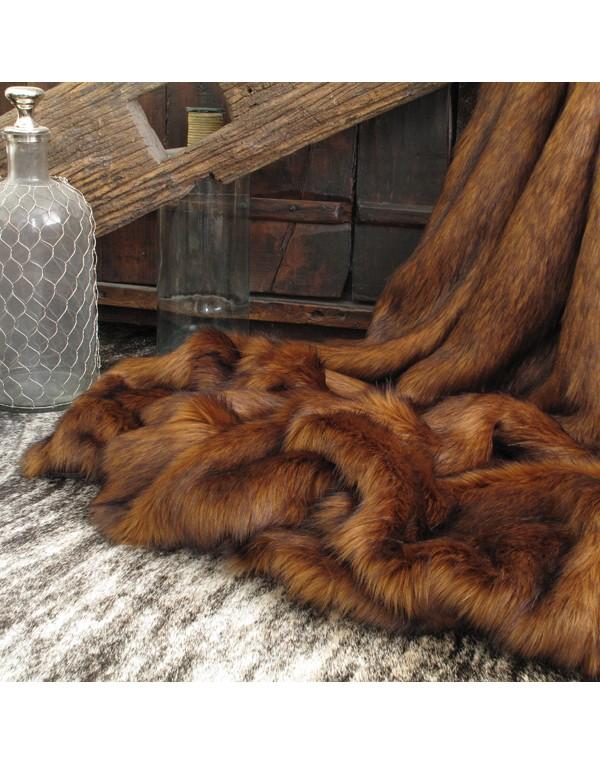 Faux Fur Throws, Raynard Faux Fur Throw , faux-fur-throws
