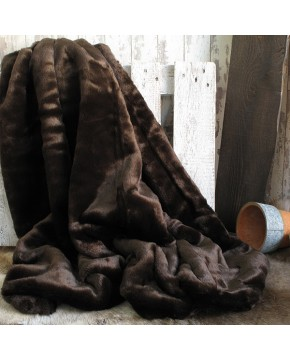 Bison Fur Throw