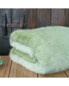 Faux Fur Throws, Faux Fur Throw Spring Willow , faux-fur-throws