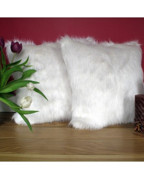 Deluxe Polar Faux Fur Cushion