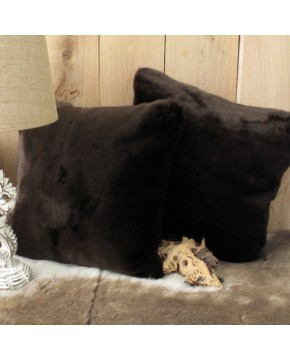 Bison Faux Fur Cushion