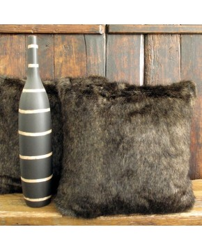 Siberian Sable Faux Fur Cushion