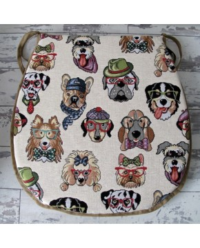 Tapestry Dogs Classic D Seat Pads