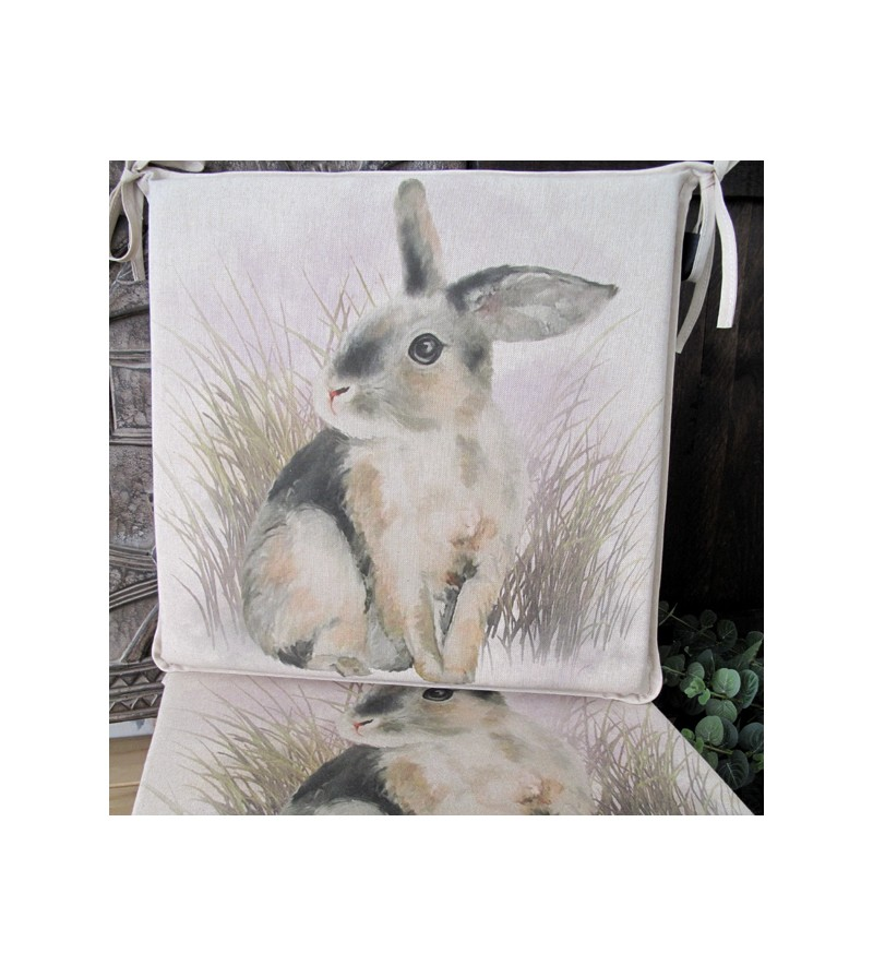 Rabbit reversible square seat pads