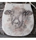 Sheep reversible classic D seat pads