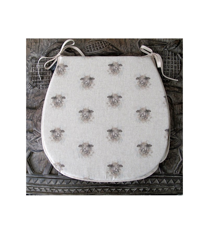 Small Sheep reversible classic D seat pads