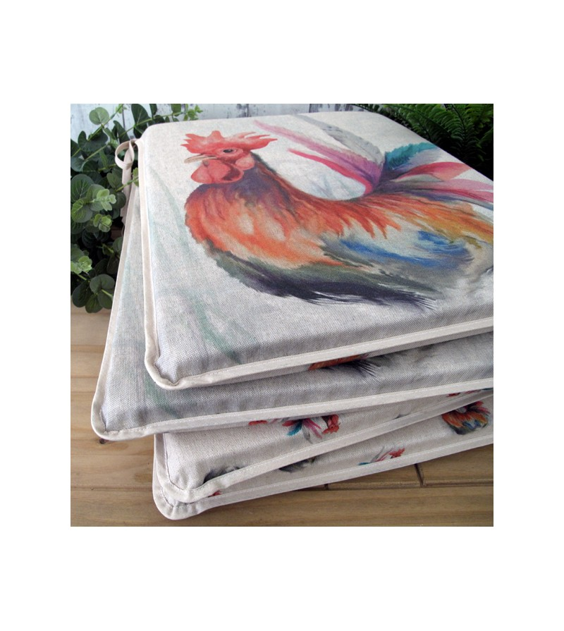 Rooster reversible tapered seat pads