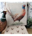 Pheasant reversible tapered seat pads