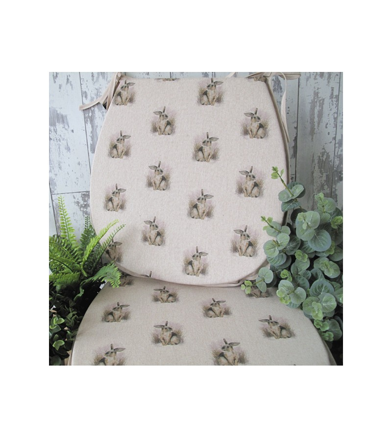 Small Rabbits reversible classic D seat pads