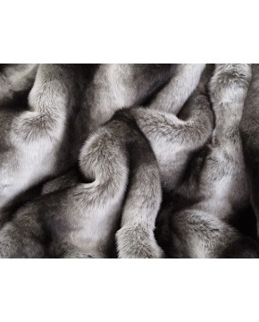 Faux Fur Throws, Silver Brown Chinchilla Faux Fur Throw , faux-fur-throws