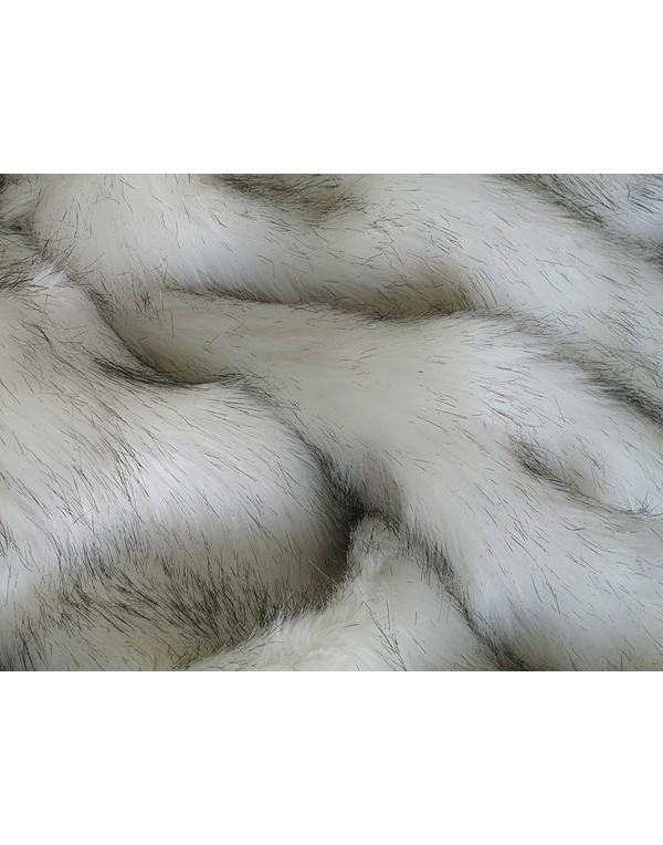 Arctic Fox Fur Throw