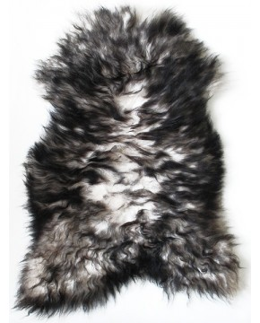 2 Colour Icelandic Sheepskin Rug 0122