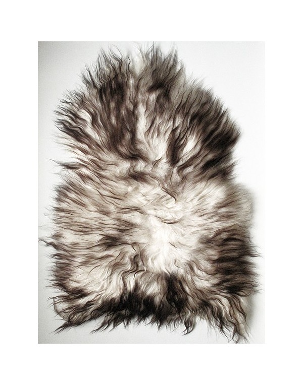 2 Colour Icelandic Sheepskin Rug 0119