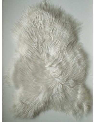 Sheepskin Rugs, Ivory White Icelandic Sheepskin Rug 0120 , faux-fur-throws