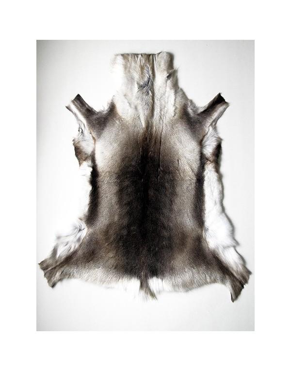 Large Size Reindeer Skin Rug 0046L