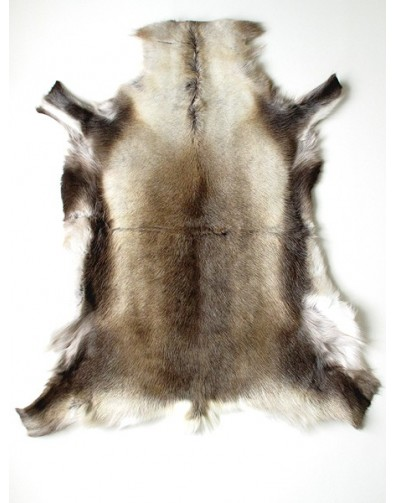 Reindeer Skin Rugs, Medium Reindeer Skin Rug 0045M , faux-fur-throws
