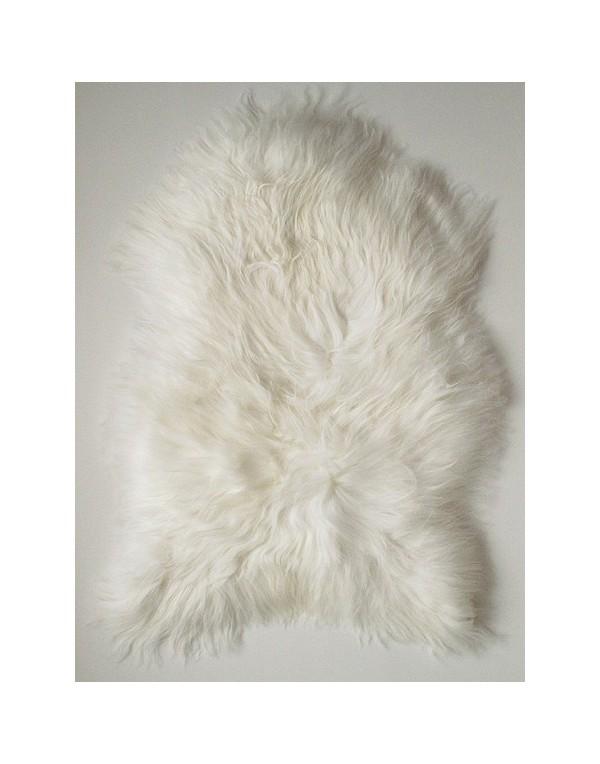 Natural Ivory Icelandic Sheepskin Rug 0111
