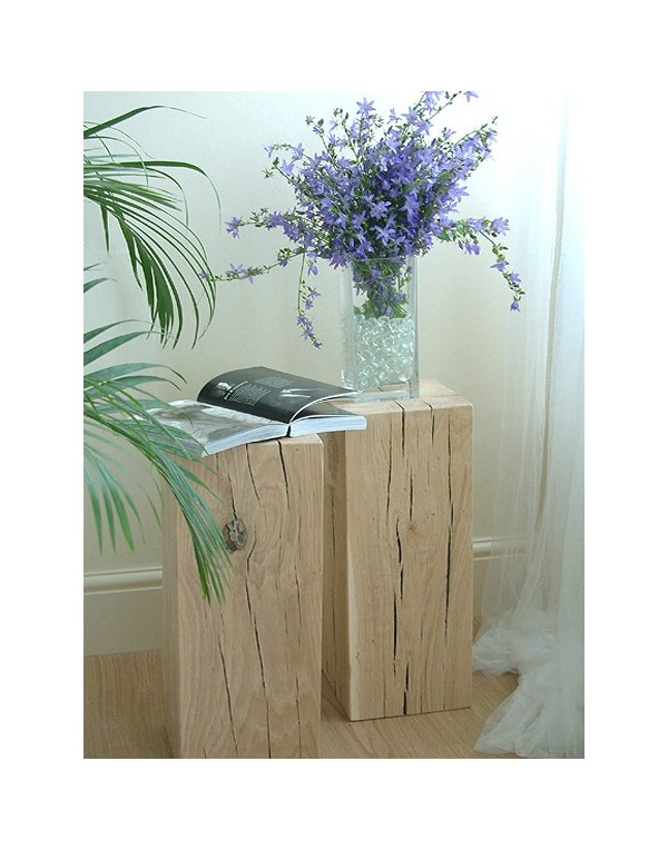 Light Solid Oak Side Table