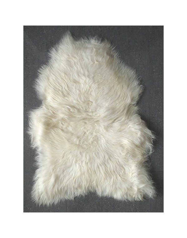 Sheepskin Rugs, Natural Ivory Icelandic Sheepskin Rug 0141 , faux-fur-throws