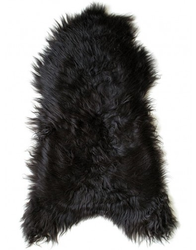 Blacky Brown Icelandic Sheepskin Rug 0136