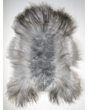 Grey Icelandic Sheepskin Rug 0124