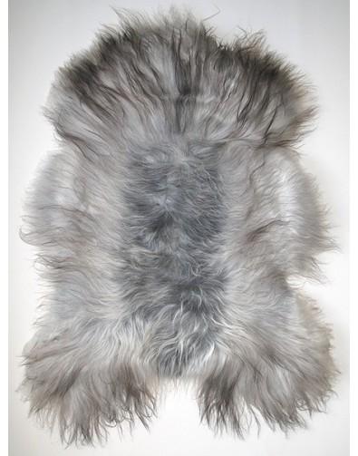 Sheepskin Rugs, Grey Icelandic Sheepskin Rug 0124 , faux-fur-throws