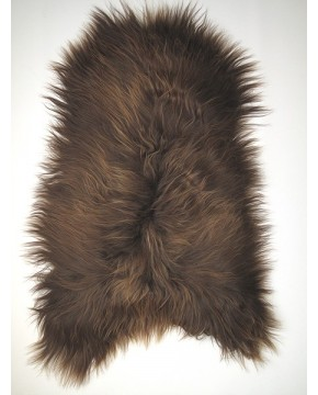 Rusty Brown Icelandic Sheepskin Rug 0127