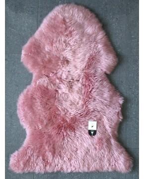 Pink Sheepskin Rug 0131