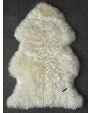 Natural  Creamy White Sheepskin Rug 0130