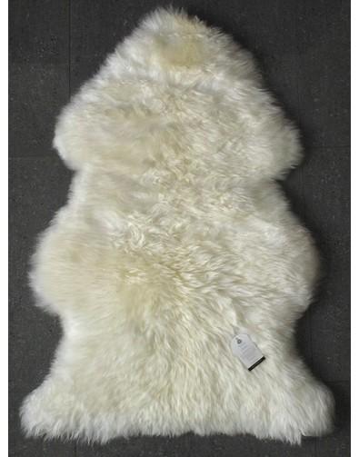 Natural  Creamy White Sheepskin Rug 0130