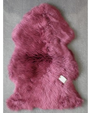 Mulberry Sheepskin Rug 0132