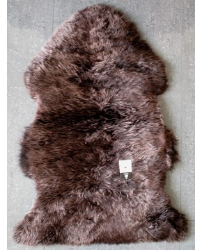 Chocolate Brown Sheepskin Rug 0135
