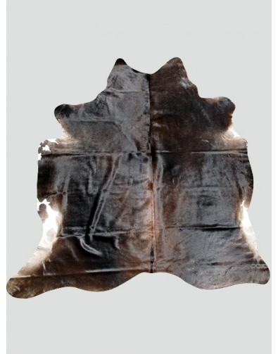 Dark Brown Cowhide Rug CH0014