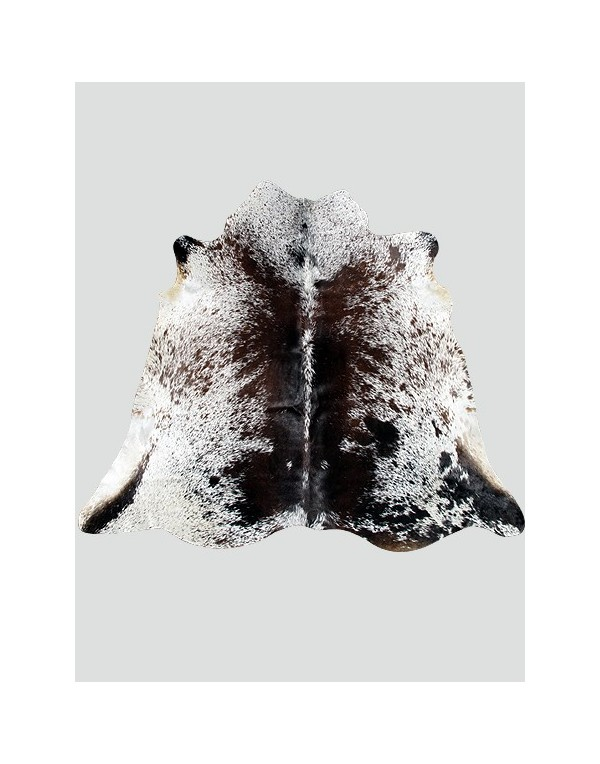 Large Dark Brown Cowhide Rug CH0018