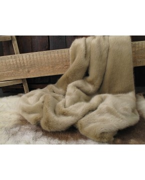 Desert Fox Fur Throw