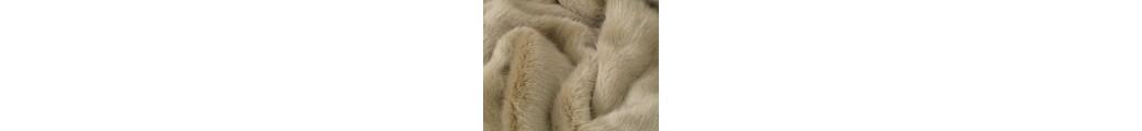 Plain Faux Fur Throws